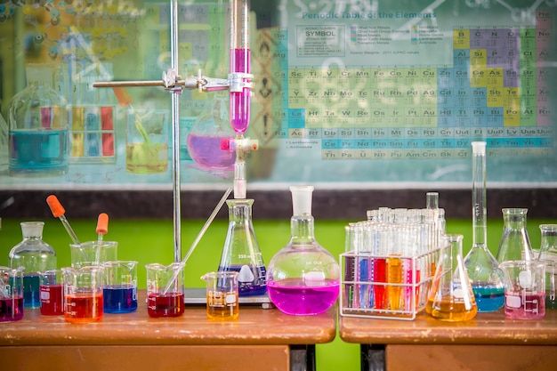 Science projects for kids in rural  and equipment Premium Photo