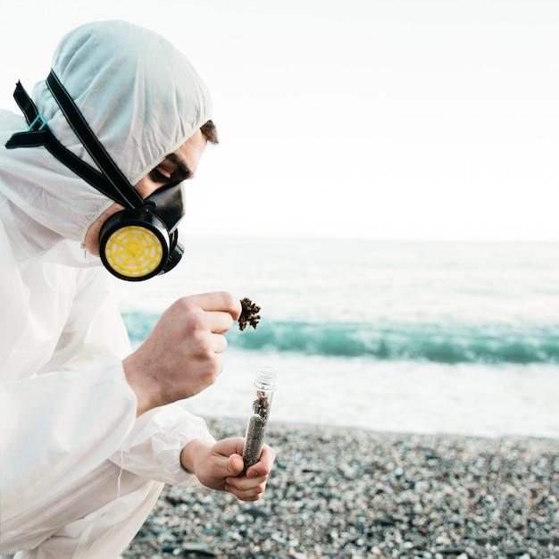 Научный анализ пляжа Бесплатные Фотографии