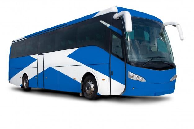 Scotland bus Premium Photo