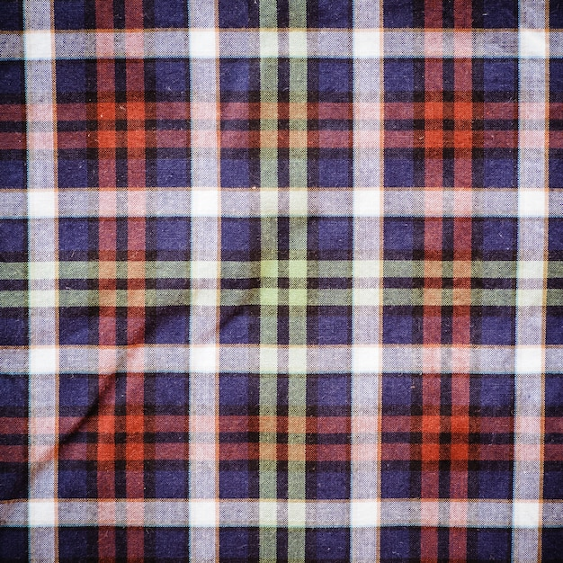 Scottish green blue plaid background Premium Photo