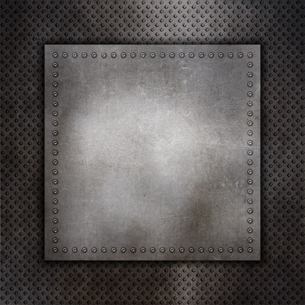 Scratched metal background Free Photo