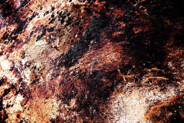 Scratched metal grunge surface Premium Photo