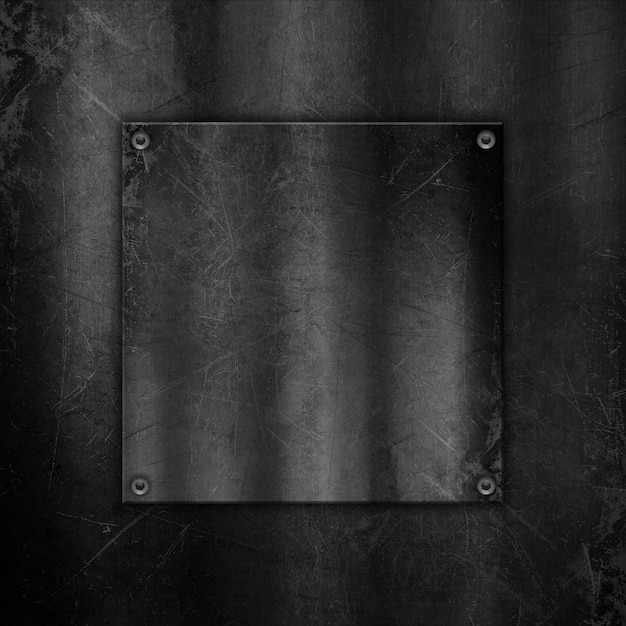 Scratched metallic background Free Photo