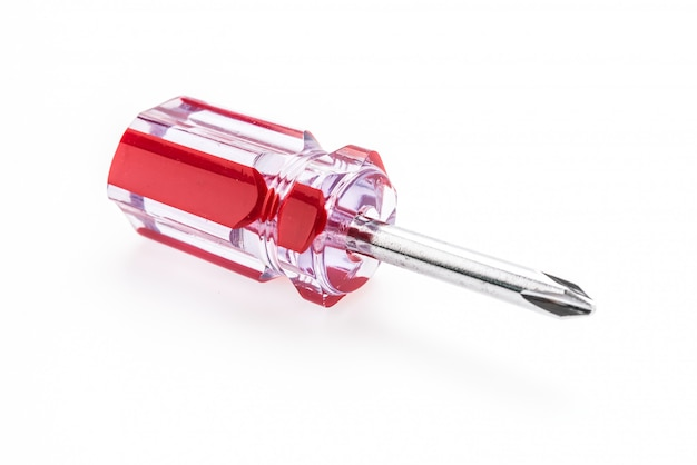 Screwdriver isolated Free Photo