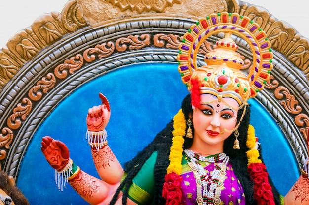 Sculpture of goddess durga Premium Photo