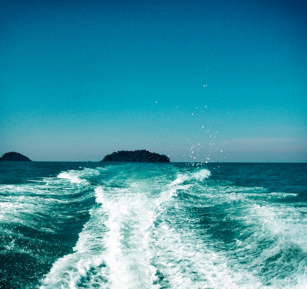 Sea ocean clean deep bottom aqua turquoise concept Free Photo