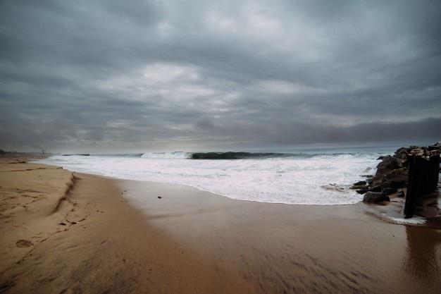 海の海岸の風景 無料写真