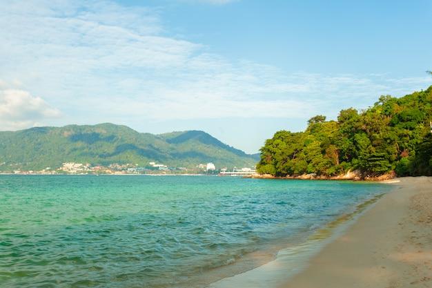 Sea. tropical paradise. Premium Photo