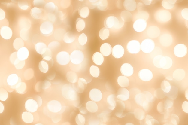 Seamless of beautiful abstract orange glitter light with holiday background Premium Photo