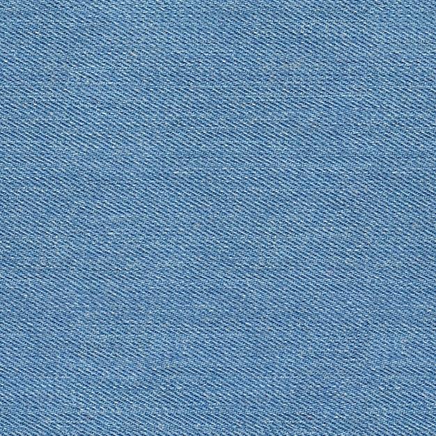 Seamless blue denim texture Premium Photo