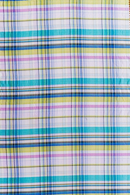 Seamless chequered pattern textile Free Photo