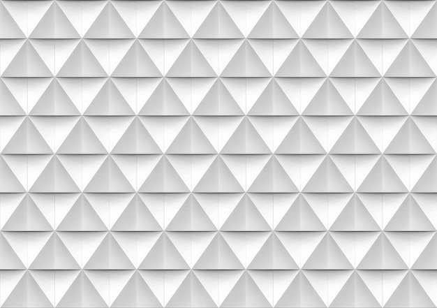 Seamless modern white and gray triangle polygon shape