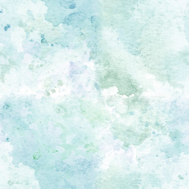 Seamless pattern with watercolor hand painted abstract texture. Premium Photo