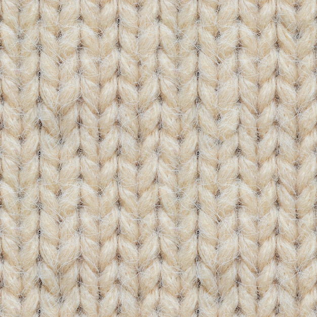 Seamless texture of knitted sweater Premium Photo