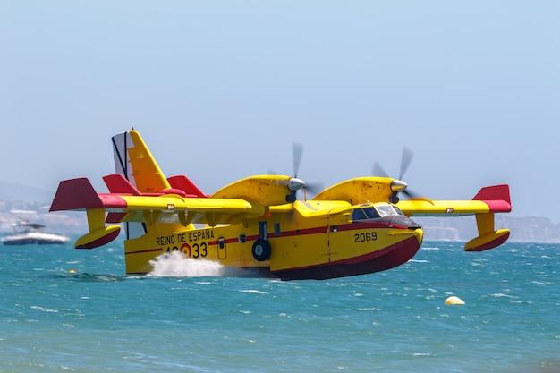 水上飛行機canadair cl-215 Premium写真
