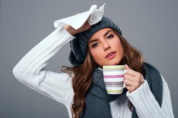 Stagione per raffreddore e influenza Foto Gratuite