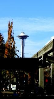 シアトルのスペースニードルは、有名な 無料写真