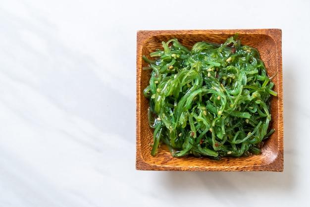 Seaweed salad -japanese style Premium Photo