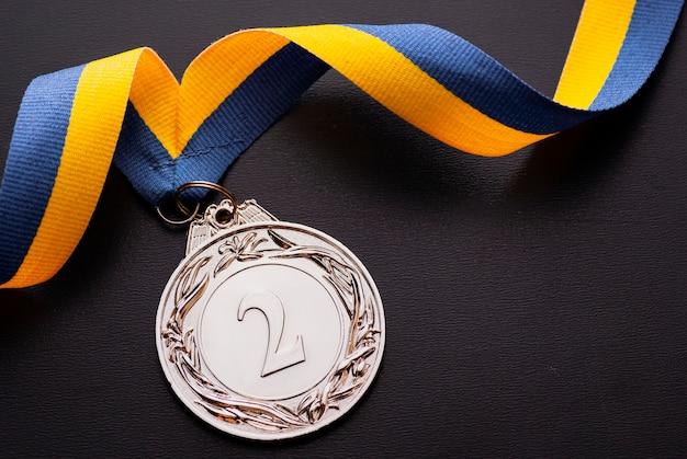 Второе место серебряная медаль за второе место на ленте Premium Фотографии