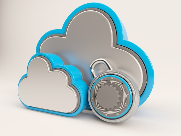 Secure storage in the cloud Free Photo