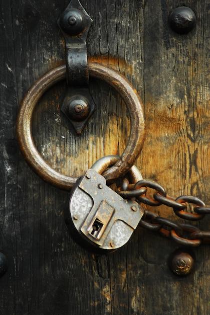 Secure wooden doors #4 Free Photo