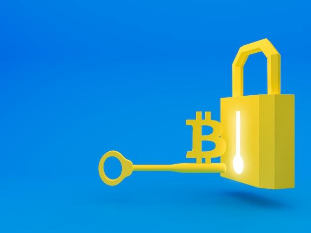Securing your crypto Premium Photo