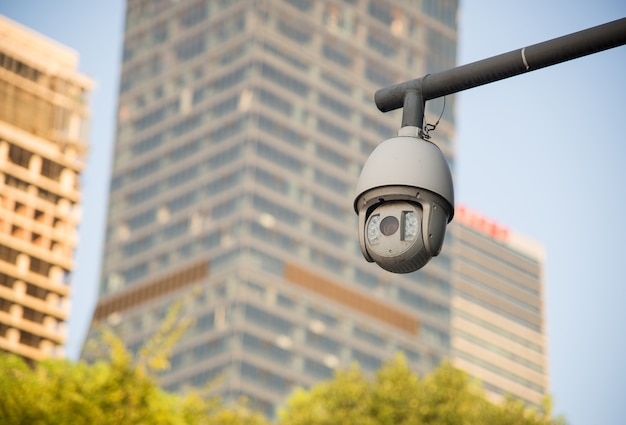 Security camera and urban video Free Photo