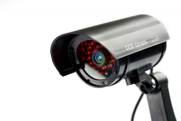 Security cctv camera Premium Photo