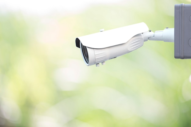 Security cctv camera Premium Photo