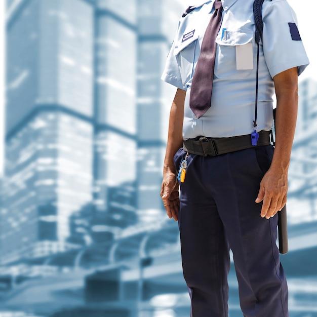 Security guard Premium Photo