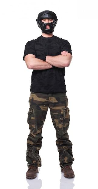 Self defence Premium Photo
