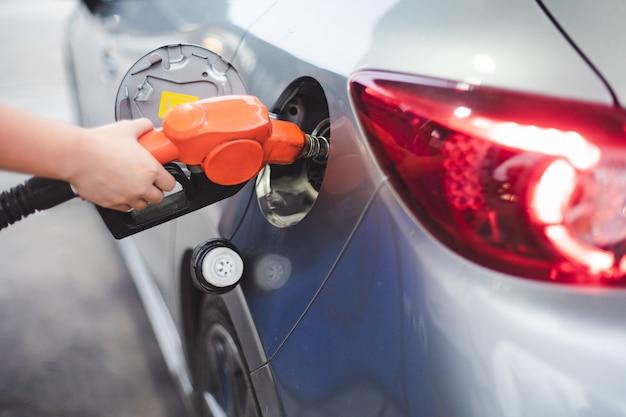 Self service fuel Premium Photo