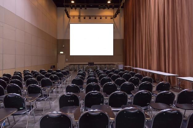 Seminar room background Premium Photo