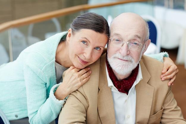 Serene couple Free Photo