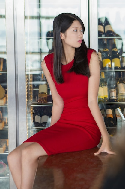 Asian In Red 28