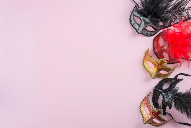Set of ornamented masks Free Photo