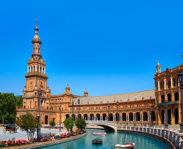 Sevilla plaza espana andalusia spain Premium Photo