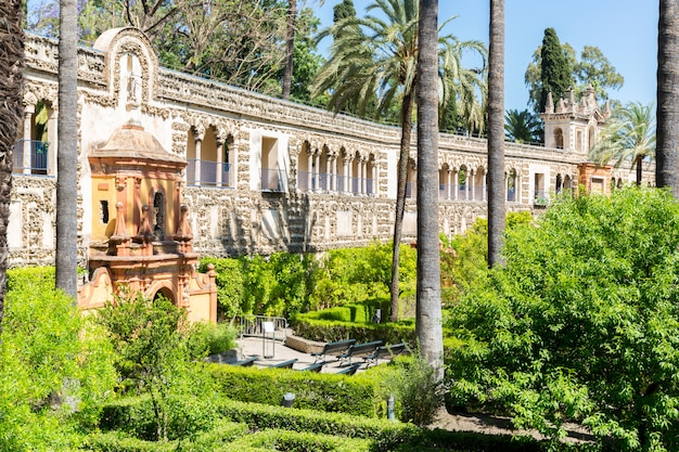 Seville alcazar spain Premium Photo