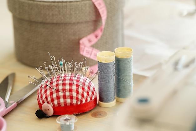 裁縫道具 無料写真