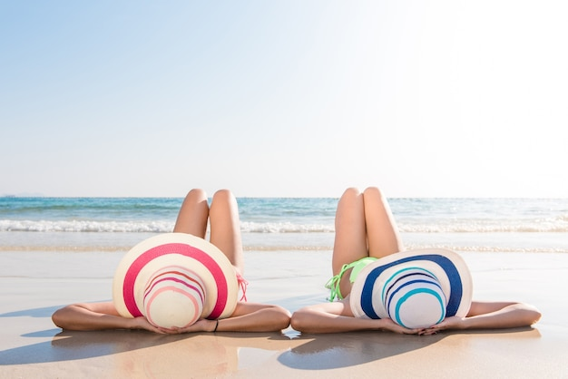 Image result for woman enjoy beach