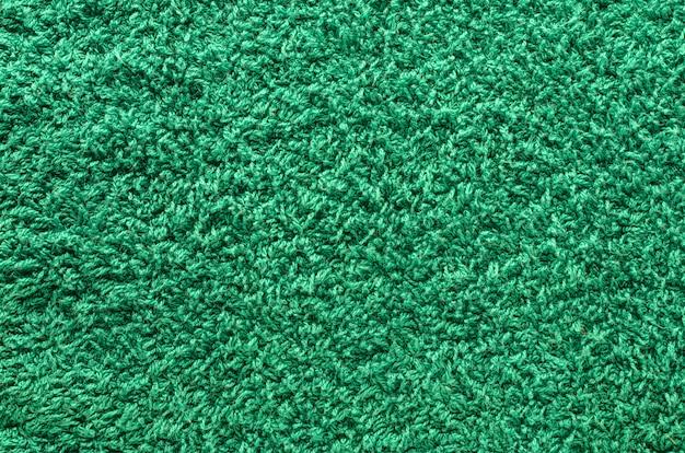 Shaggy green carpet Premium Photo