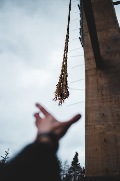 Shallow focus photo of brown ropes Free Photo
