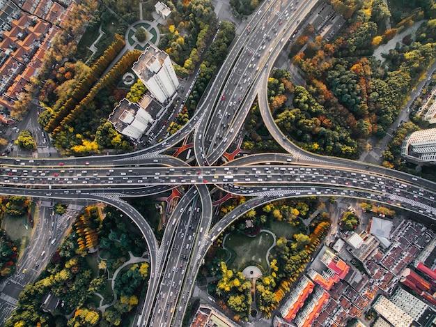 Шанхайская развязка Бесплатные Фотографии