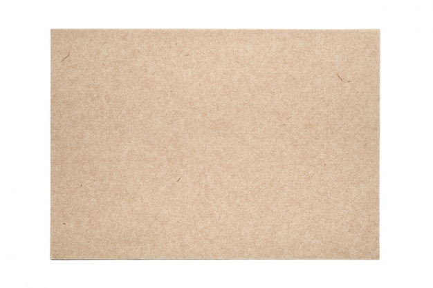 Sheet of traditional handmade paper on white table Premium Photo