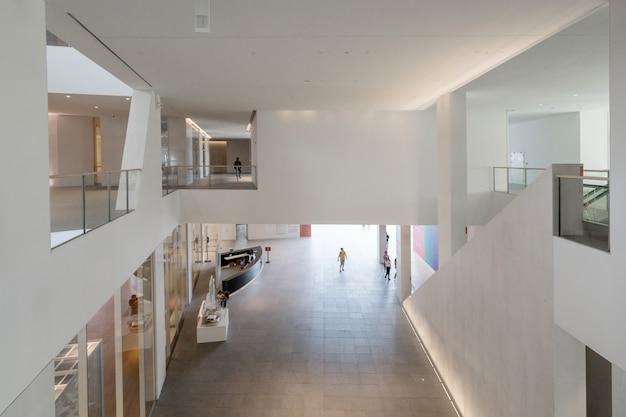 中国深shenzhenの文化芸術センター、文化芸術センターの内部空間 Premium写真