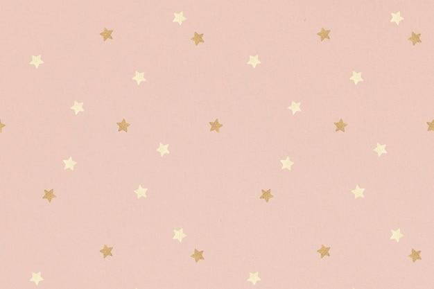 반짝이는 금색 별 무늬 무료 사진
