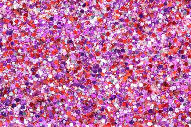 Shiny pink glitter festive background Free Photo