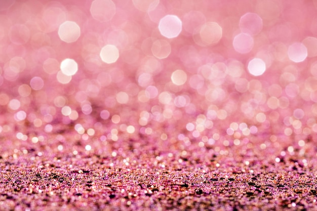 光沢のあるピンクのキラキラ 無料写真