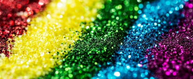 Scintillio arcobaleno lucido Foto Gratuite