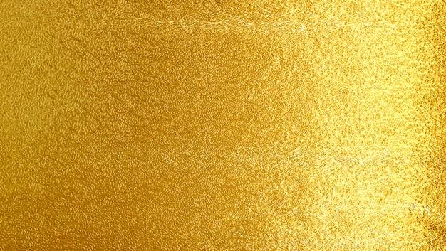 Shiny yellow leaf gold metall texture background Premium Photo